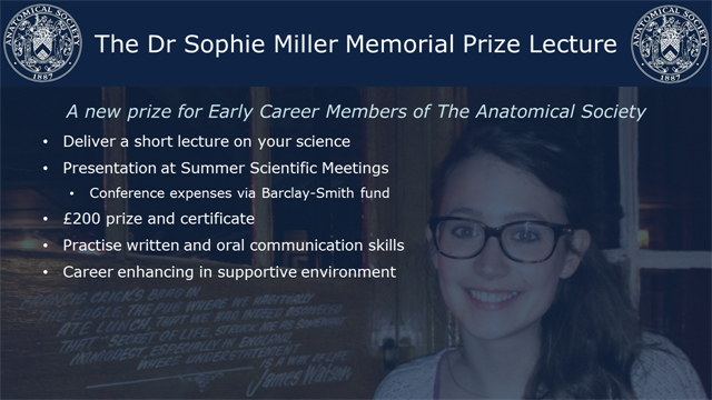 Dr Sophie Miller Memorial Prize Lecture_Communications Flyer