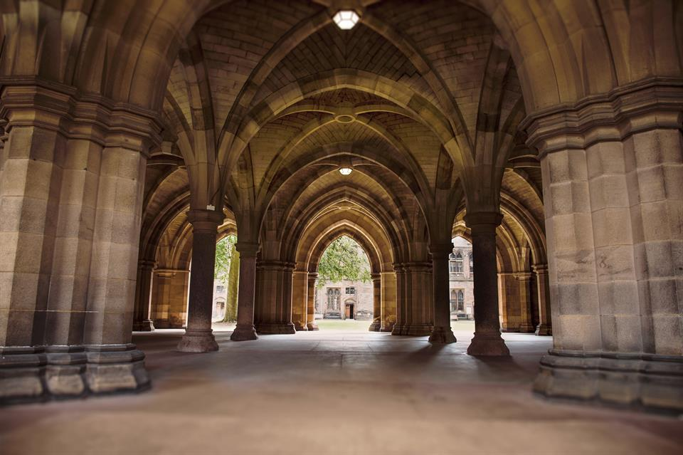 Cloisters Uni of Glasgow