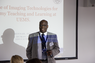 Dr Tudor Chinnah presents available e-resources for anatomy teaching and learning at UEMS