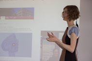 Dr Flora Groening explains her project on the application of 3D modelling for anatomy teaching and learning